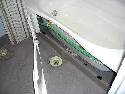 浴槽・バスタブのエプロン内部