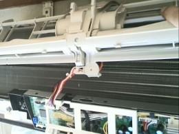 エアコン内部のお掃除ユニット