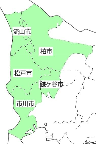 千葉県の対応エリア