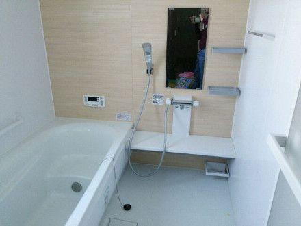 きれいになったお風呂浴室の全体