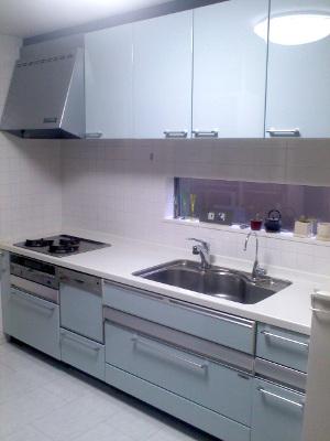 きれいになったキッチン